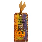 Spooky Wishes and Halloween Hats Tag by Alison Heikkila