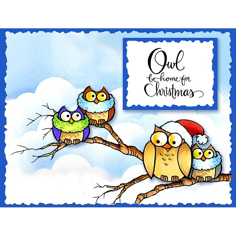 Owl Be Home Blue Skies