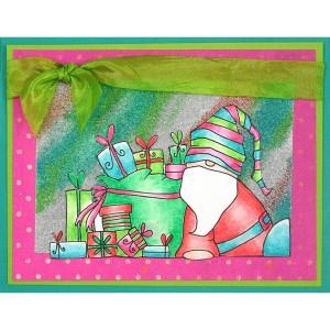 PLP12 Santa Resting by Kristine Reynolds