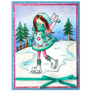PLW07 Whisper Friends Ice Skater by Janelle Stollfus