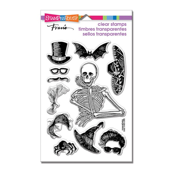 Skeleton Style Perfectly Clear Stamps