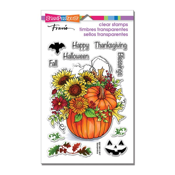 SSC1265 Fall Arrangement Perfectly Clear Stamps Set