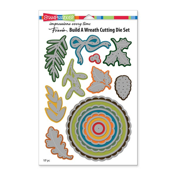 Build a Wreath Die Set