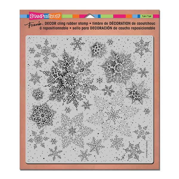 DCR102 Decor Cling Snowflakes