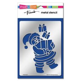 FMS4037 Santa Gifts Metal Stencil