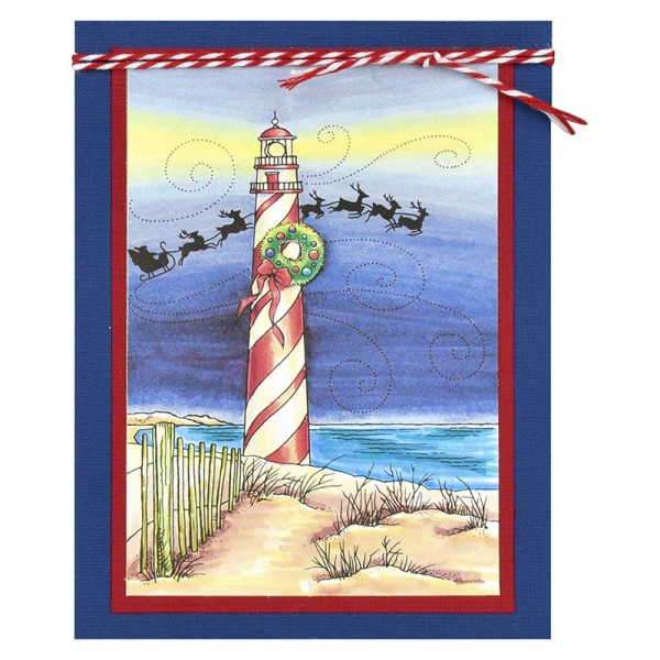 Lighthouse Christmas by Debi Hammons