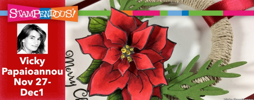 Vicky P Wrapped Poinsettia