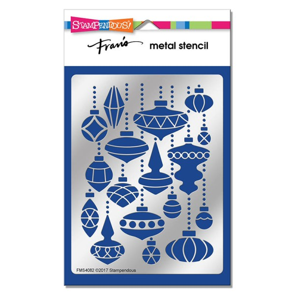 FMS4082 Ornament Mix Metal Stencil