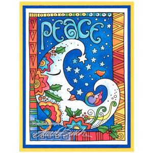 Laurel Burch Peace Moon by Debi Hammons