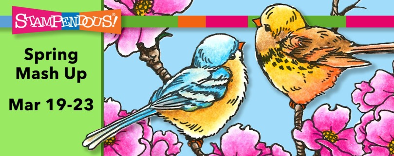Dogwood Birds Banner