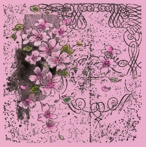 6CR003 Blossom Scroll