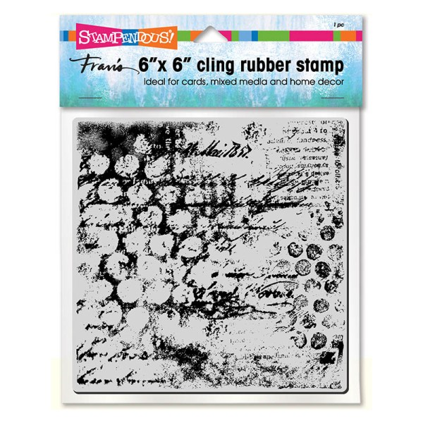Mixed Mesh Cling Stamp