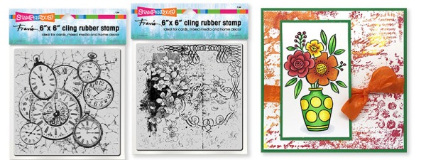 6 X 6 Cling Rubber Stamps