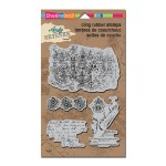 ASCRS12 Andy Skinner Textures Cling Rubber Stamps
