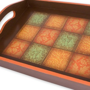 Foliate Quad Cube Tray