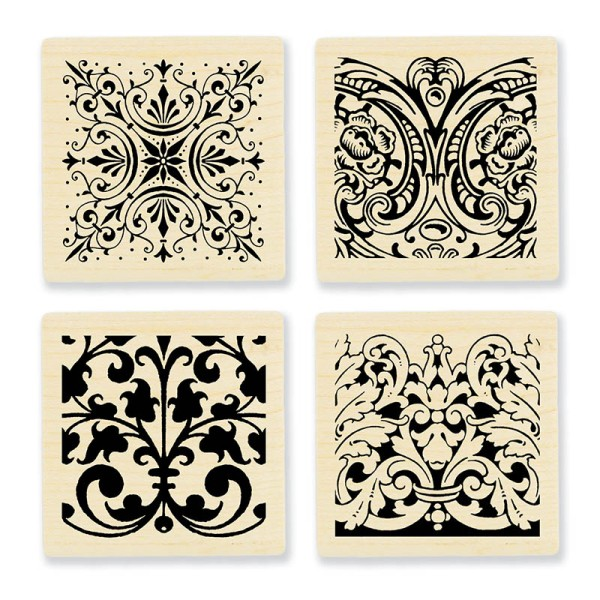 Ornate Tiles Texture Cube