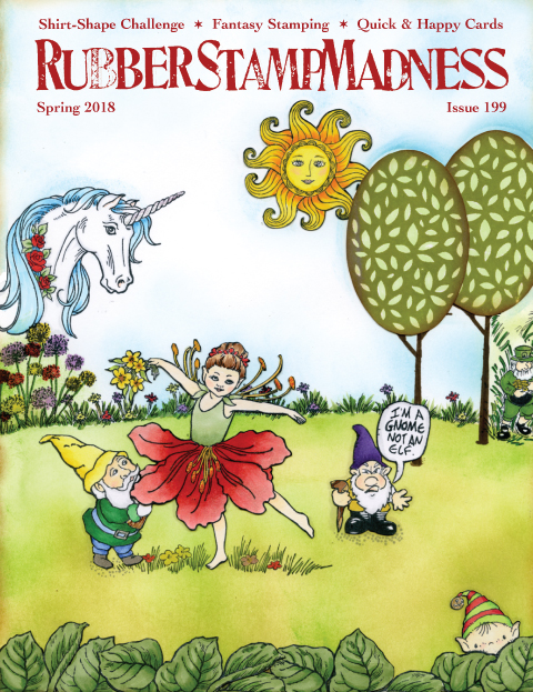 Rubberstampmadness Cover Spring 2018