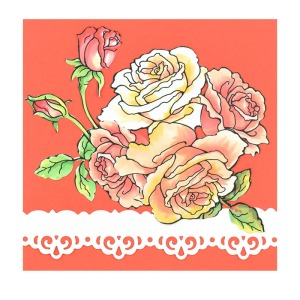 Rose Garden by Fran Seiford