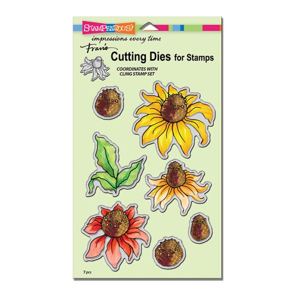 DCS5062 Coneflower Cutting Die Set