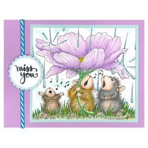 HMR116 Peony Song and SSC1272 Brushed Wishes