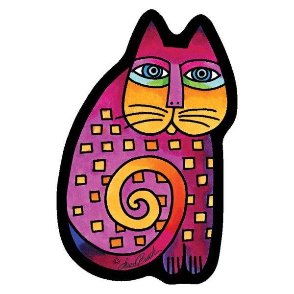 Laurel Burch Cat Curio
