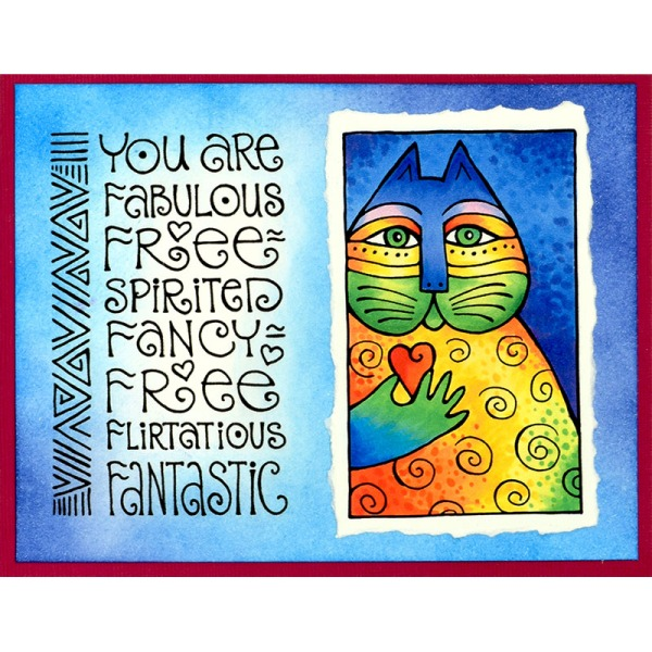 LBM002 Laurel Burch Cat Love and LBM004 Laurel Burch Fabulous by Fran Seiford