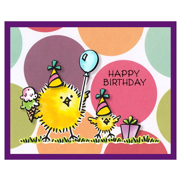 CSD20 Everyday Chicks Birthday by Fran Seiford