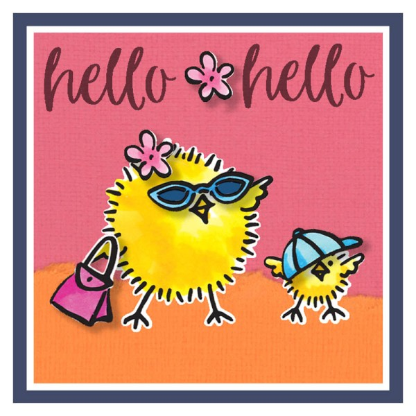 Everyday Chicks Hello Hello by Fran Seifor