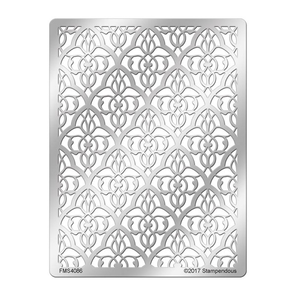 FMS4086 Moroccan Mesh Stainless Steel Stencil