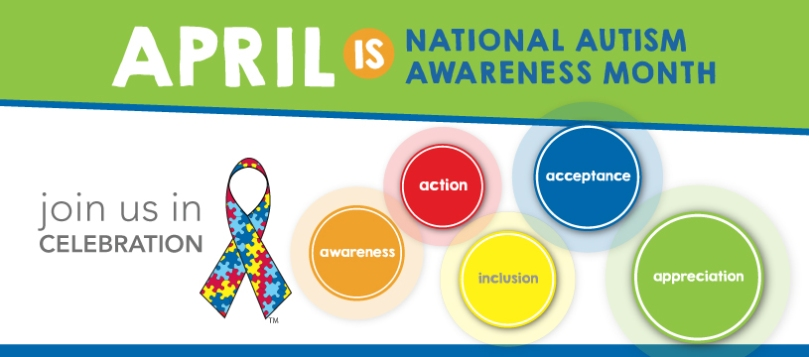 National Autism Awareness Banner