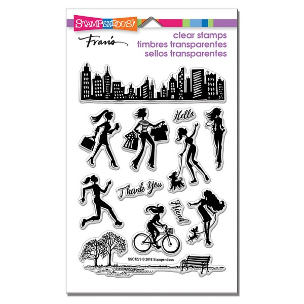SSC1279 Sassy City Perfectly Clear Stamps