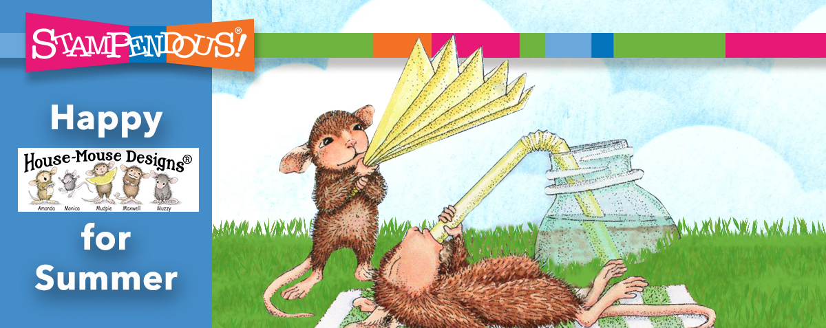 House-Mouse Summer Banner