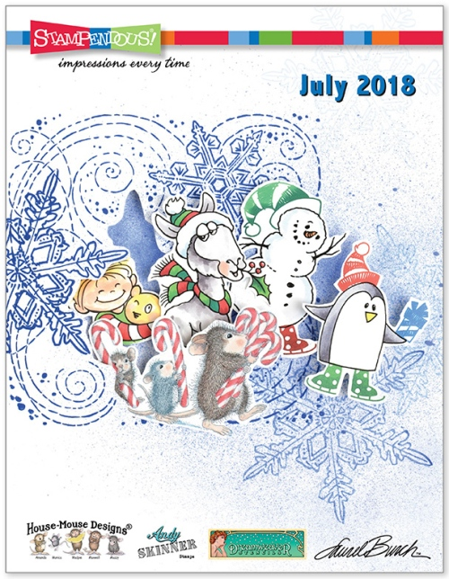 Stampendous July Catalog 2018
