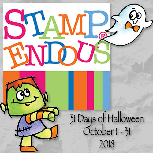 Stampendous 31 Days of Halloween Badge
