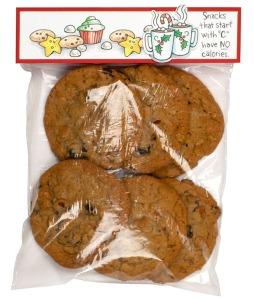 Cookie Christmas Treat Bag by Debi Hammons