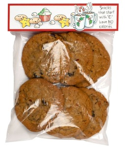 Cookie Christmas Treat Bag by Debi Hammons