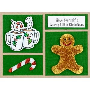 QS5004 Cookie Christmas Gingerbread by Debi Hammons