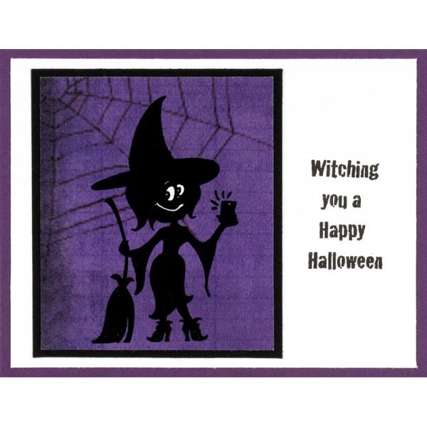 Witch Selfie by Debi Hammons