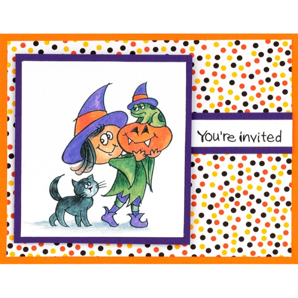 Q236 Witchy Friends by Debi Hammons