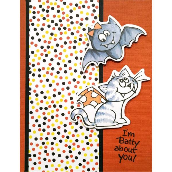 Batty Cat by Debi Hammons