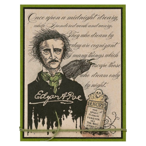 Poe Poetry by Debi Hammons
