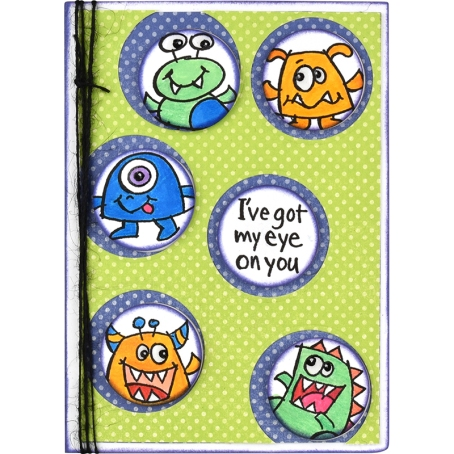 Little Monsters Card by Roxanne Russell
