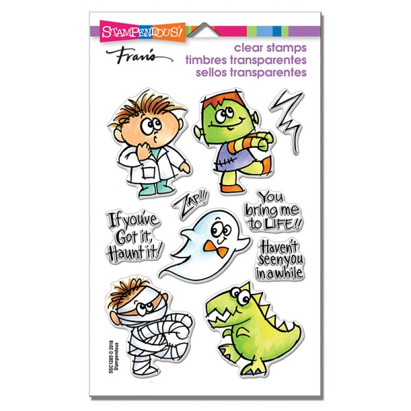 SSC1285 Bring to Life Perfectly Clear Stamps