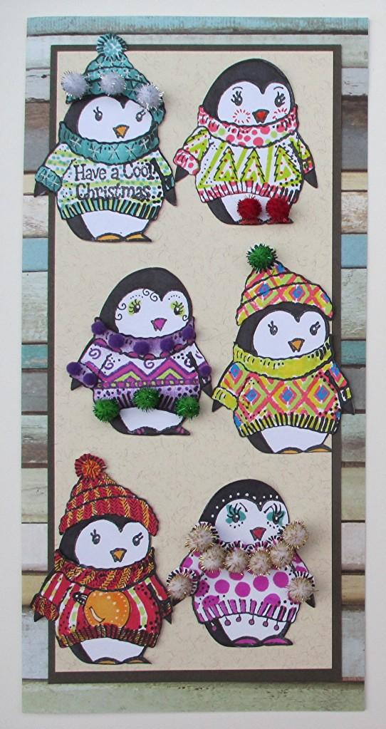 Cool Penguin, Ugly Sweaters - Judi Kauffman