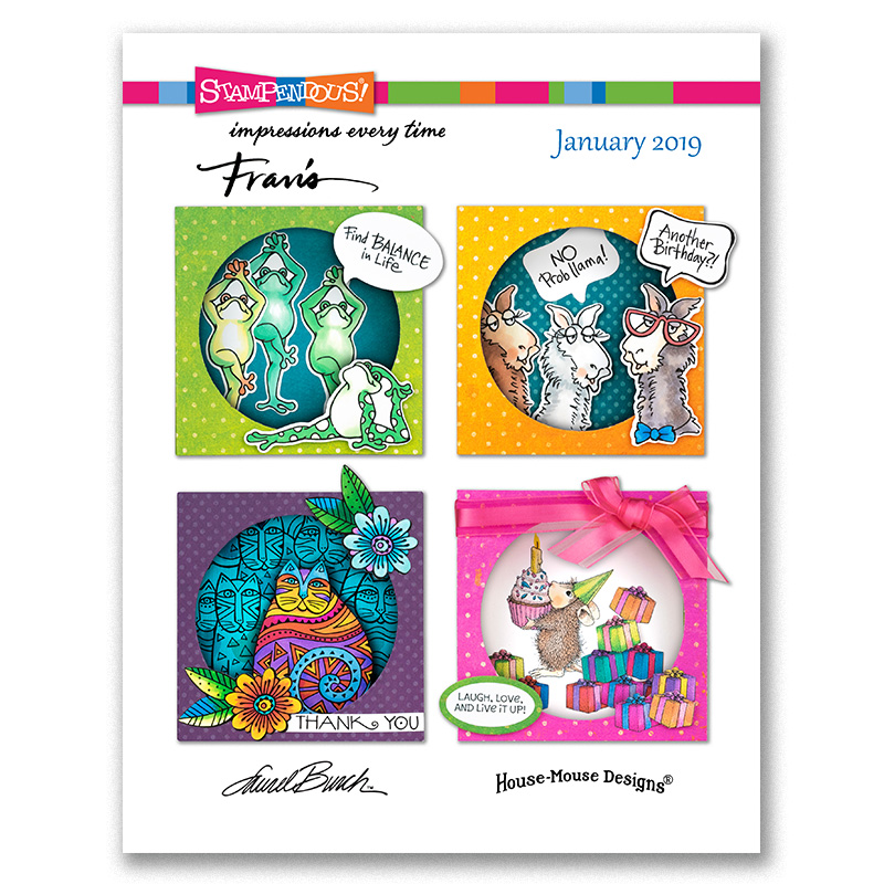Stampendous January 2019 Catalog