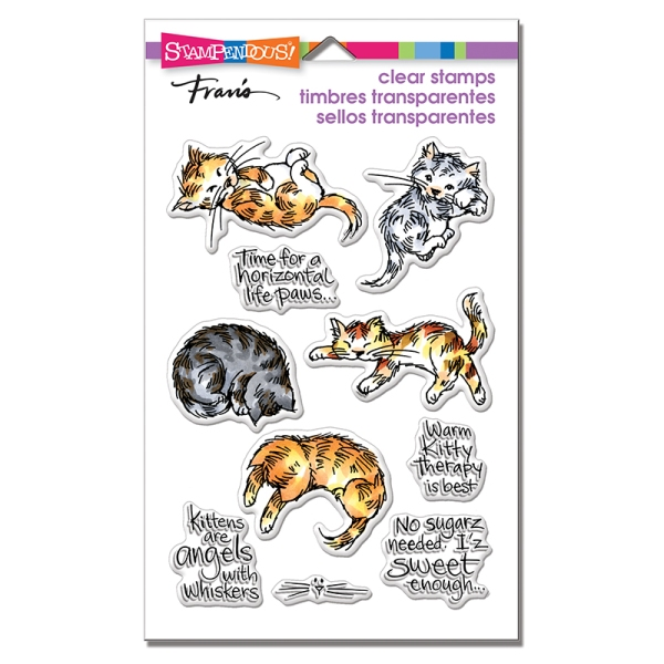 SSC1304 Kitty Therapy Perfectly Clear Stamps