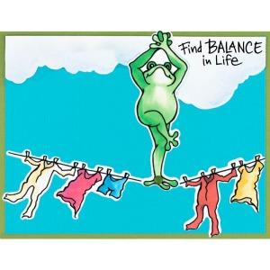 Froggie Balance by Fran Seiford
