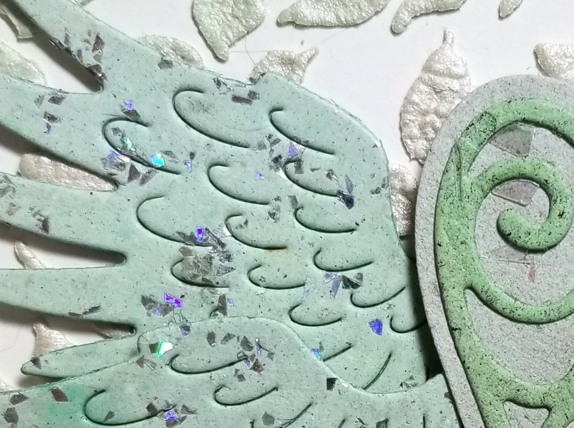 Handmade Paper with our great Wings Die Set