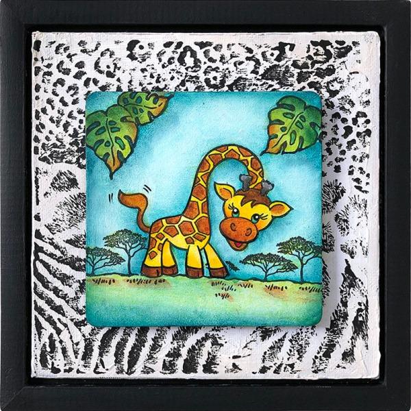 Giraffe by Deb Antonick