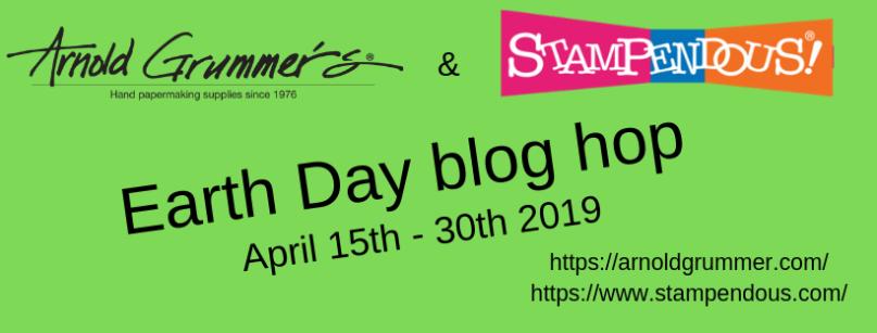 Arnold Grummer Blog Hop Banner